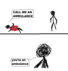 Ambulance Driver Meme - 25 best memes about ambulate ambulate memes