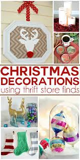 25 thrift store christmas decor ideas making lemonade