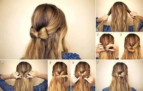 hair bow with hair awesome diy hairstyle idea that anyone can do ladystyle