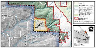 Washington County Map Historic Agreement Reached To Change Washington Multnomah County
