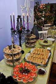 halloween hors d oeuvres the halloween theme tea party spread halloween pinterest