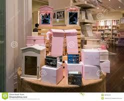 q home design dubai display in home decor store in dubai mall royalty free stock photos