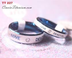 cincin online cincin titanium tt227 cincin titanium hitam asli pernikahan