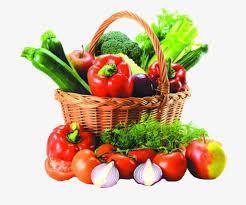 basket of fruits a basket of fruits and vegetables basket vegetables fruit png