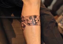 tribal leg band tattoos for oasis fashion
