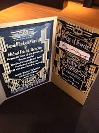 Gatsby Invitations Great Gatsby Wedding Invitations Marialonghi Com