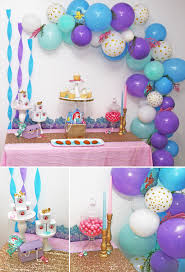 birthday decorations ideas at home best little mermaid birthday party decoration ideas home design