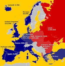Europe Temperature Map 6 Key European Dictators From The Twentieth Century