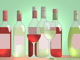 3 ways to serve wine at thanksgiving wikihow