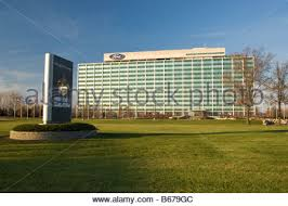 ford corporate ford motor company dearborn truck plant stock photo royalty free