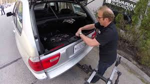 how to remove spare tire in bmw x5 e53 youtube