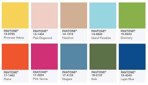 trending colors for 2017 pantone fashion color report reveals trending colors for the