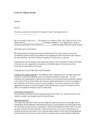 how to write a cover letter for an adjunct faculty position how to