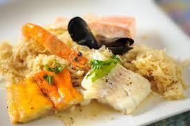 cuisiner choucroute choucroute de la mer cuisine à l ouest
