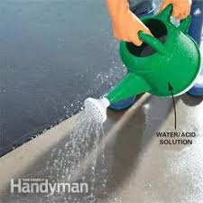 How To Clean A Concrete Patio by How To Apply Epoxy Flooring To Your Garage U2014 The Family Handyman