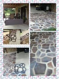 Diy Cement Patio by Paint Concrete Patio To Look Like Slate Google Search Yard Diy