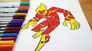 coloring pages ben 10 fire blast ben 10 omniverse coloring book