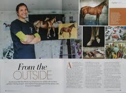 nz horse u0026 pony magazine u2013 november 2016 neal palmer nz artist