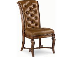 Dining Room Chairs Leather Leather Side Chair Dining Room Furniture Thomasville Furniture