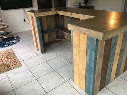 Rustic Reception Desk The Rustic Blues Rustic Barn Wood Style Bar Sales Counter