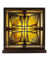 Arts And Crafts Ceiling Lights by Frank Lloyd Wright Prairie Arts And Crafts Stained Glass Panels