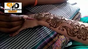 unique floral mehndi designs for henna