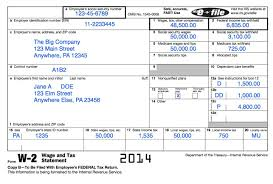 Federal Tax Table For 2014 Understanding Your Tax Forms The W 2