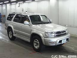 1998 toyota hilux surf 4runner silver for sale stock no 49986