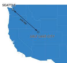 Salt Lake City Map Salt Lake City Utah Air Charter Seattle