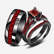 black wedding band sets inspirational and black wedding rings team 570