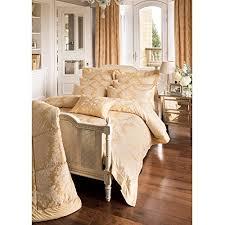 Dormer Bedding Dorma Blenheim Gold Duvet Cover Superking Amazon Co Uk