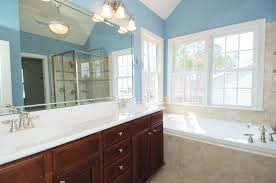 blue and beige bathroom 45 blue master bathroom ideas for 2018 long mirror wood vanity