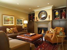 warm great room furniture layout