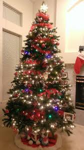 christmas how to decorate christmas tree with mesh loopdecorate