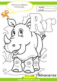 kids under 7 letter r worksheets and coloring pages