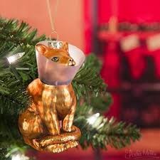 cone kitty ornament archie mcphee u0026