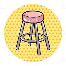 Furniture Theme Furniture Theme Chair Sofa Elements Vectoreps Stock Vector Art
