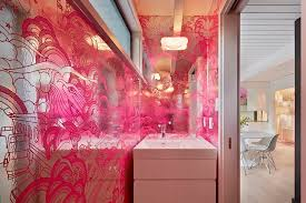 Contemporary Wallpaper For Bathrooms - 20 gorgeous wallpaper ideas for your powder room