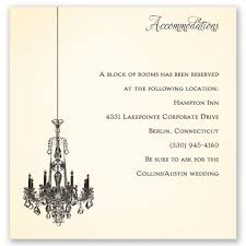 Accommodation Cards For Wedding Invitations Wedding Invitation Accommodation Card Wording Wedding