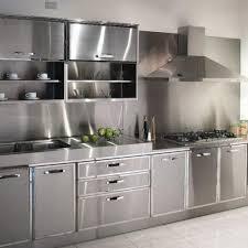 transform stainless steel kitchen cabinets best decorating kitchen