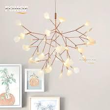 suspension pour chambre moderne acrylique lustre lumière décorative le suspendue led