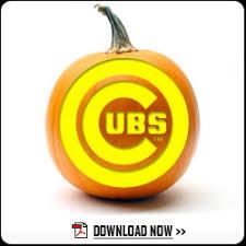 halloween pumpkin carving templates cubs pumpkin carving templates chicago cubs