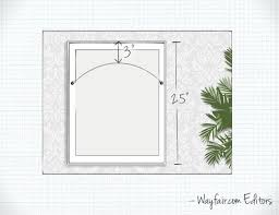 proper height to hang pictures on wall how to hang wall art wayfair