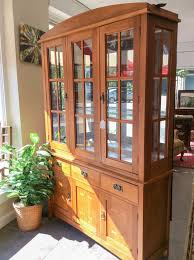 mission style china cabinet oak mission style china cabinet furniture4u