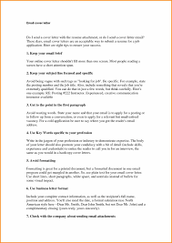 sample of email cover letter image collections cover letter sample