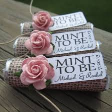 mint to be wedding favors 16 diy wedding favors it girl weddings