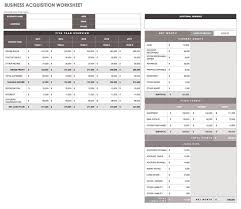 free printable personal financial statement excel blank business