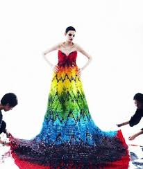 gummy clothes fashion designers recreate mcqueen s parrot