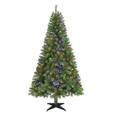home accents holiday 6 5 ft pre lit led greenville spruce