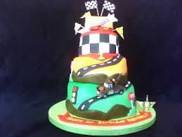 cars themed fondant birthday cake youtube